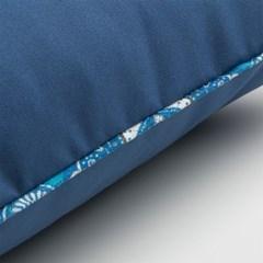 스페인 직수입 블루 쿠션커버-블루3