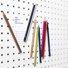 Tout Simplement 프랑스 친환경 나무 마그넷 자석연필 10가지 컬러