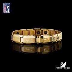PGA 게르마늄 골프팔찌 스와로브스키 크리스탈 적용
