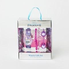 겨울왕국2 키즈 손목시계 팔찌 SET (라일락)