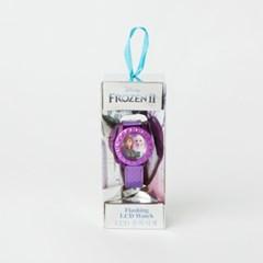 겨울왕국2 키즈 손목시계 (메탈릭 퍼플)