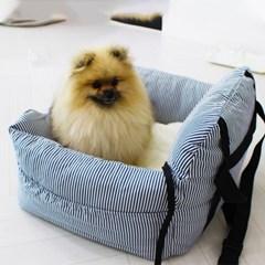 강아지카시트 모어펫 강아지 자동차시트 하우스쿠션 겸용 2종
