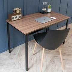 어썸 스칸월넛 1200 입식 컴퓨터 책상 일자 블랙 /테이블