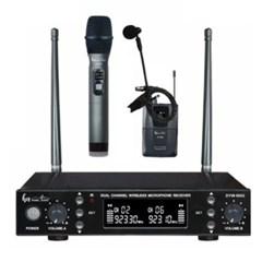 DYW-9002 공연 강의용 무선 2ch 마이크