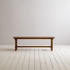 [장미맨숀]로사 원목 다이닝 테이블 식탁 벤치 1400
