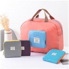 리츠 파스텔 휴대용 여행 보조가방