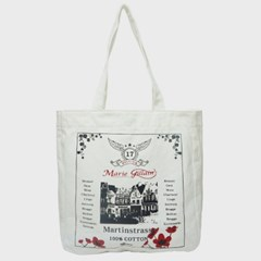 LOUVAIN ECO BAG WHITE