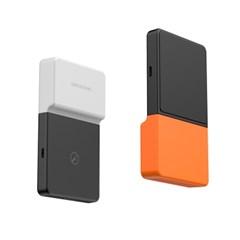 브릭파워 휴대폰 보조배터리 흡착형 무선충전