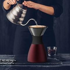 아소부 푸어오버 커피메이커+핸들키트+원두2팩