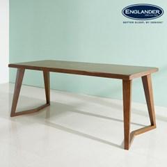 폴린 고무나무 원목 6인용 식탁(의자 미포함)