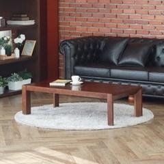 [잉카] 브룬 소나무원목 다용도 거실테이블 1400