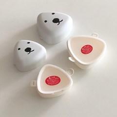 [폴라앳홈] 북극곰 시리즈 오니기리 도시락 (소 사이즈)