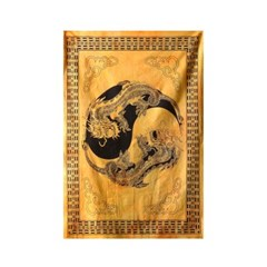 드래곤 음양 - 태피스트리 패브릭포스터 포스터 76x117cm