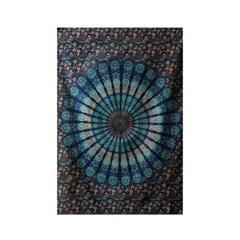 블루 피콕 - 태피스트리 패브릭포스터 포스터 76x117cm
