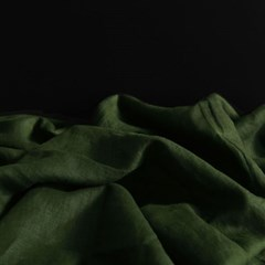 [Fabric] 백마포 아보카도 카키 100% 퓨어린넨 캔버스