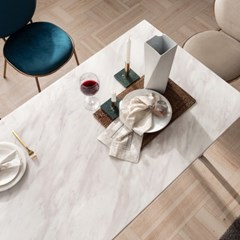엠마 대리석 4인용 식탁 테이블 1600 (리퍼브 가구)_(2186260)