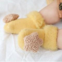돌핀웨일 몽글하트별 아기양말(0~18개월)