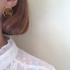[빈티지 귀걸이] 마리플라워 이어링