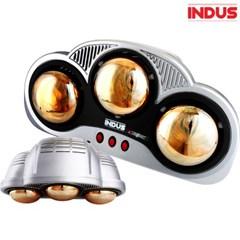 인더스 욕실용 3구 램프 순간히터 IN-BR750