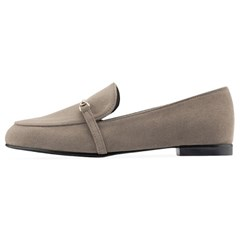 SPUR[스퍼] 로퍼 OF9049 Dord line loafer 다크베이지
