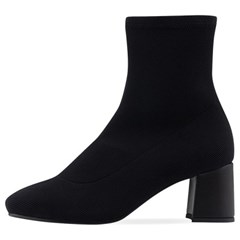 SPUR[스퍼] 삭스부츠 OF8053 Gross grain socks boots 블랙