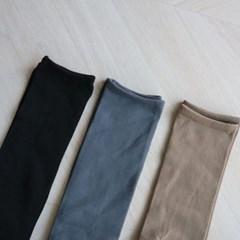 무지 스타킹 니삭스 (3color)