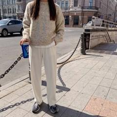 골지와이드 pants (3color)