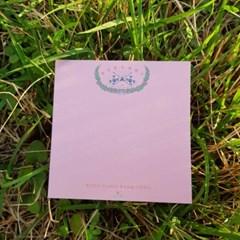 [역사굿즈] 독립선언서 핑크 컬러 떡메모지
