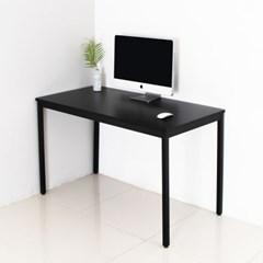 어썸 1200 입식 컴퓨터 책상 블랙 철제 테이블