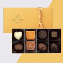 [고디바] 초콜릿 골드 컬렉션 8P