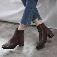 kami et muse Half combi middle heel ankle boots_KM19w083