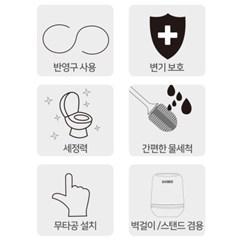 식스비 반영구 벽걸이 실리콘 변기솔_(2361792)