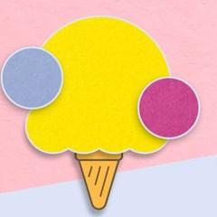[앳원스]아이스크림 컬러엽서 A형 NO 1~19 (20매)
