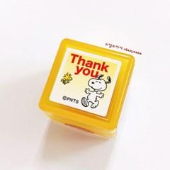 스누피 스탬프 - Thank you