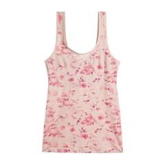 은은한 꽃잎 패턴 노와이어 몰드 브라런닝