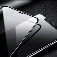 10D 아이폰 시리즈 풀글루 강화유리 블랙 아이폰11 출시