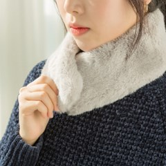 [피치펀치] Fake Fur Muffler S (6 colors)