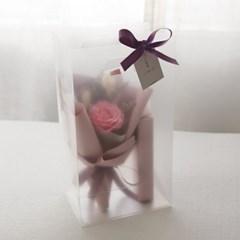 빅로즈꽃다발 1+1 막대과자선물set_(680435)