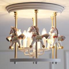 회전목마 4등 직부(LED전구포함)