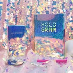 아이스타일 2020 홀로그램 PVC 다이어리 - HOLO 2020
