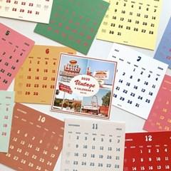 2020 Vintage Calendar