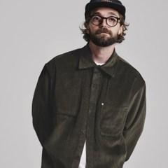 [코듀로이]CORDUROY #2 shirts jacket_KHAKI BROWN
