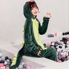 수면 파자마 동물 잠옷 공룡 잠옷
