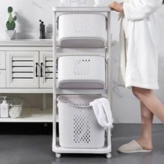 세탁 정리함 2단 3단 2종 택1