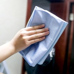 만능 유리창 타올 도어락 유리 타월 수건 창문 닦이 50x60