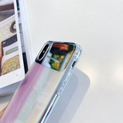 프리즘 화이트 셀카 미러 아이폰11 Pro/Max 케이스