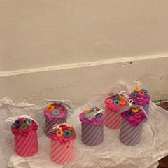 시리얼 캔들 4color 4scent