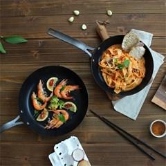 [건강한팬] 쉐프스틸 우드핸들 계란말이팬 20cm
