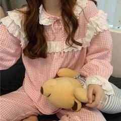 프릴 파자마 여성잠옷 세트 CH1506946