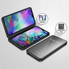 아라리 LG V50S 강화유리 퓨어 듀얼스크린 액정보호필름_(2293839)